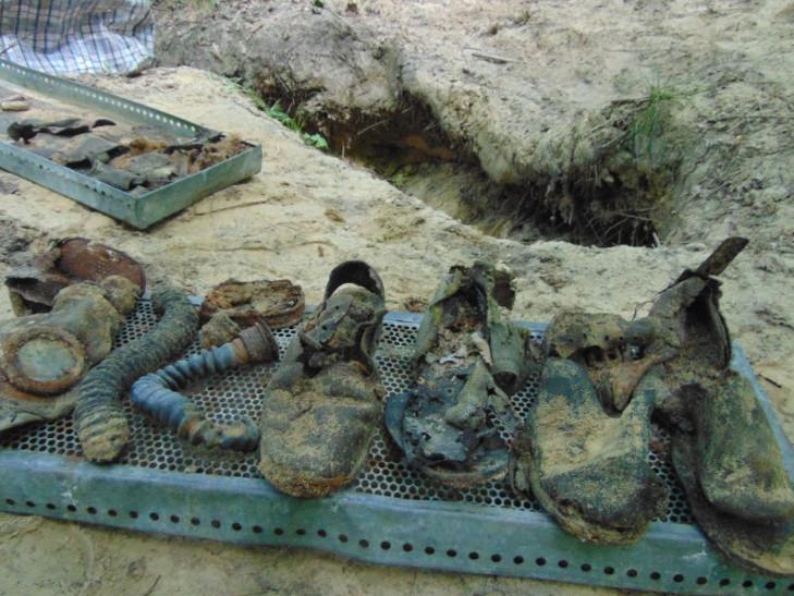 Знахідки пошуковців на Турійщині