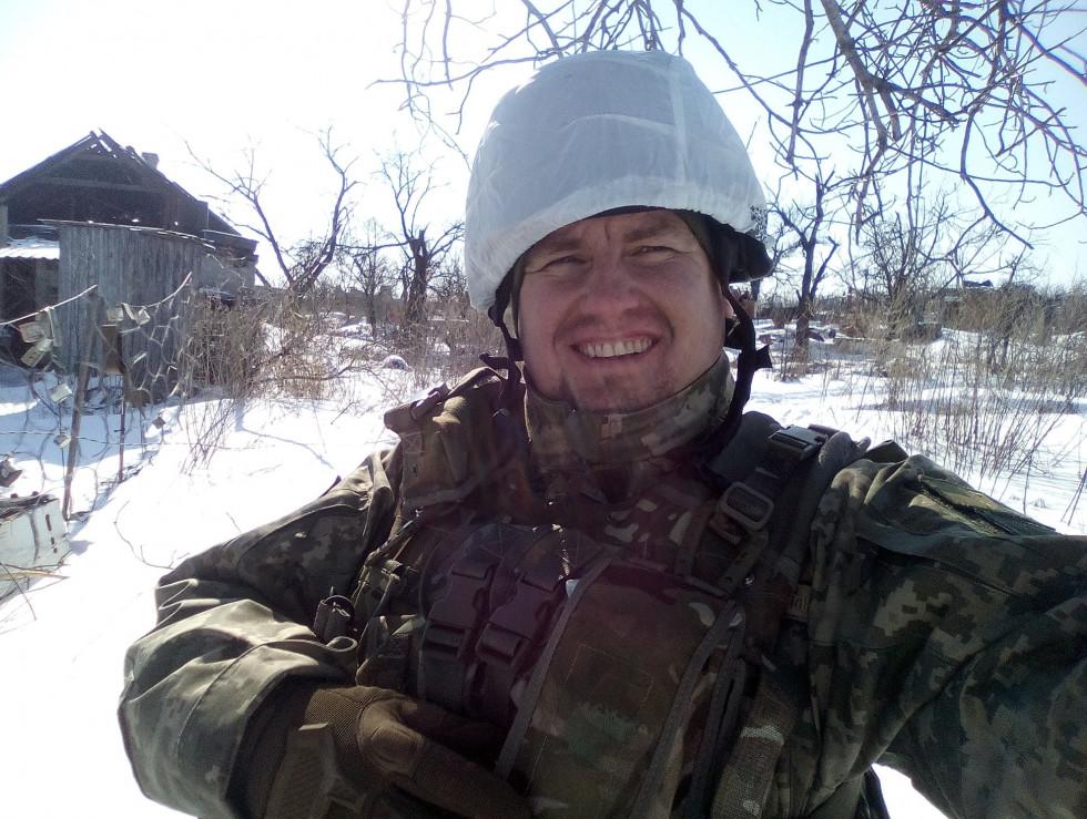 Іван Тимочко на фронті