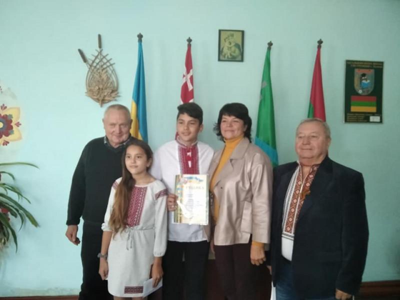Нагородження Софії та Артема Назаруків із Купичева