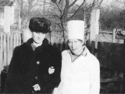 Уршуля Сяркевич (праворуч) із колегою